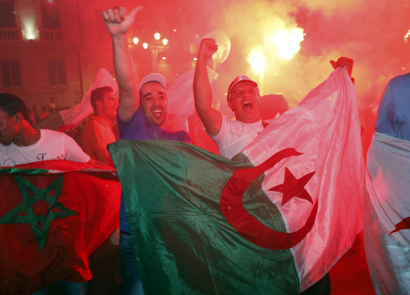 2 die during Algerian World Cup celebrations