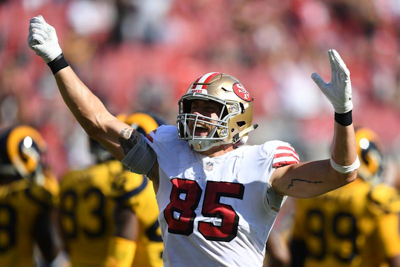 49ers Te George Kittle Cares About Your Fantasy Team