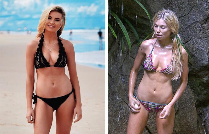Georgia Toffolo S I M A Celebrity Weight Loss