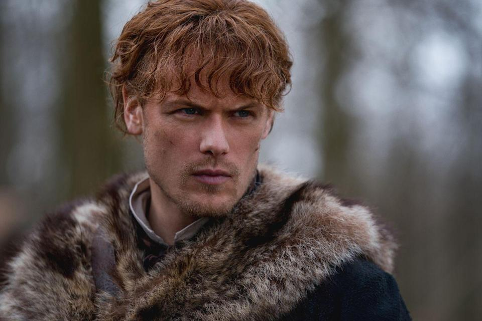 """<p>The leading man <a href=""""https://www.usmagazine.com/entertainment/news/sam-heughan-25-things-you-dont-know-about-me/"""" rel=""""nofollow noopener"""" target=""""_blank"""" data-ylk=""""slk:told"""" class=""""link rapid-noclick-resp"""">told </a><em><a href=""""https://www.usmagazine.com/entertainment/news/sam-heughan-25-things-you-dont-know-about-me/"""" rel=""""nofollow noopener"""" target=""""_blank"""" data-ylk=""""slk:Us Weekly"""" class=""""link rapid-noclick-resp"""">Us Weekly</a></em> beat his personal best both times by one minute in case you were wondering. <br></p>"""