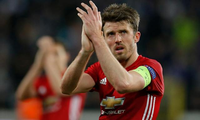 "<span class=""element-image__caption"">Michael Carrick has admitted Manchester United are well off the required standard to win the Champions League even if they qualify for the tournament.</span> <span class=""element-image__credit"">Photograph: Andrew Couldridge/Reuters</span>"