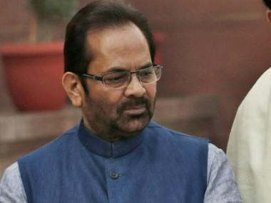 Centre withdraws Haj subsidy; Mukhtar Abbas Naqvi says funds will be used to empower Muslims