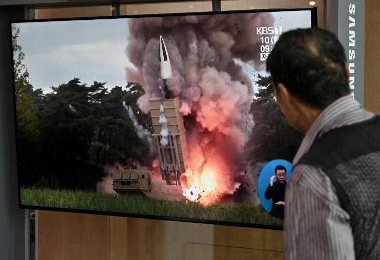 Previous North Korean launches have been identified as short range missiles (AFP Photo/Jung Yeon-je)