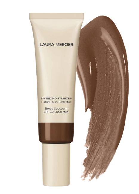 "Laura Mercier's Tinted Moisturizer Natural Skin Perfector is one of our favorite tinted moisturizers that gives you that summer glow while guaranteeing light coverage and protection from the sun thanks to its SPF 30 formula. The best part? It doesn't melt right off the bat once you start sweating from the summer's heat. $47, Laura Mercier Tinted SPF Moisturizer. <a href=""https://shop-links.co/1706049551282915170"" rel=""nofollow noopener"" target=""_blank"" data-ylk=""slk:Get it now!"" class=""link rapid-noclick-resp"">Get it now!</a>"