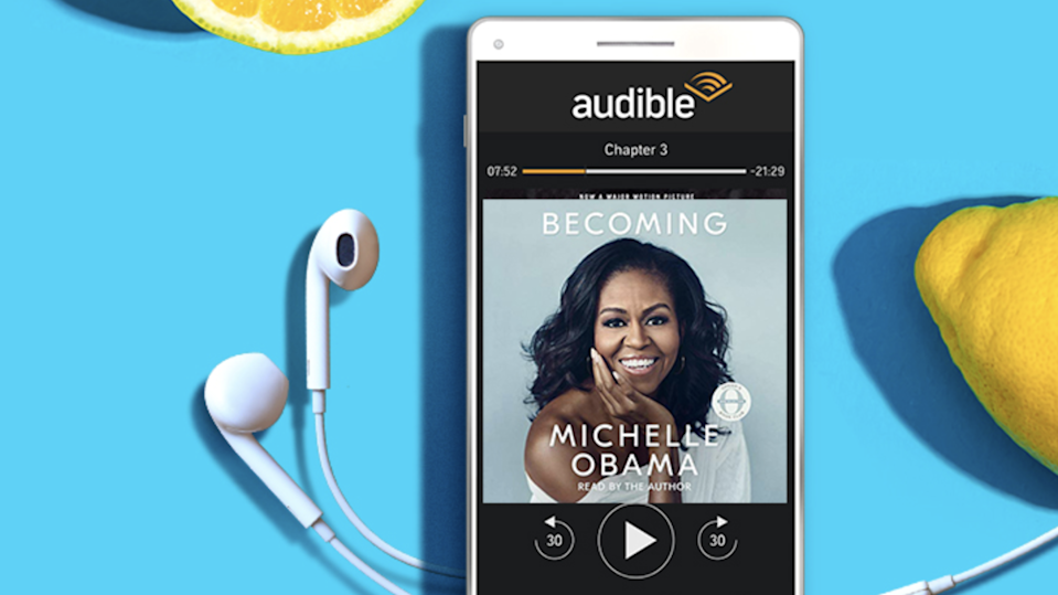 Best gifts under $100: Audible.