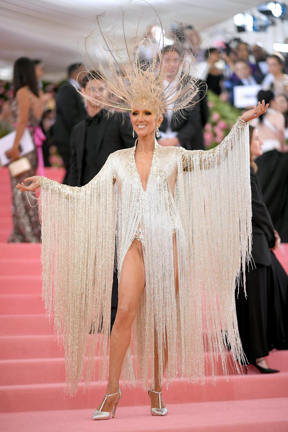 Celine Dion at the 2019 Met Gala (Getty Images)