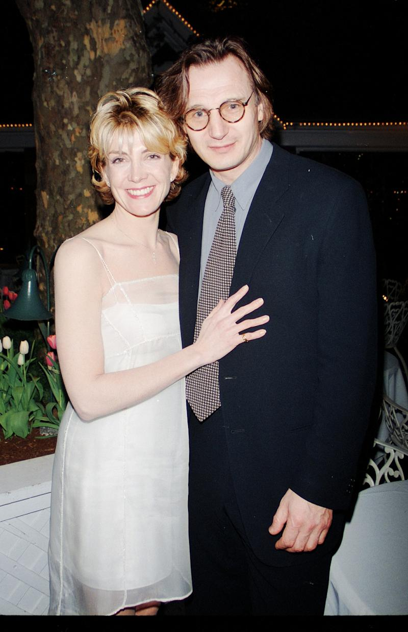 UNITED STATES - AUGUST 01: Natasha Richardson, Liam Neeson (Photo by The LIFE Picture Collection via Getty Images)