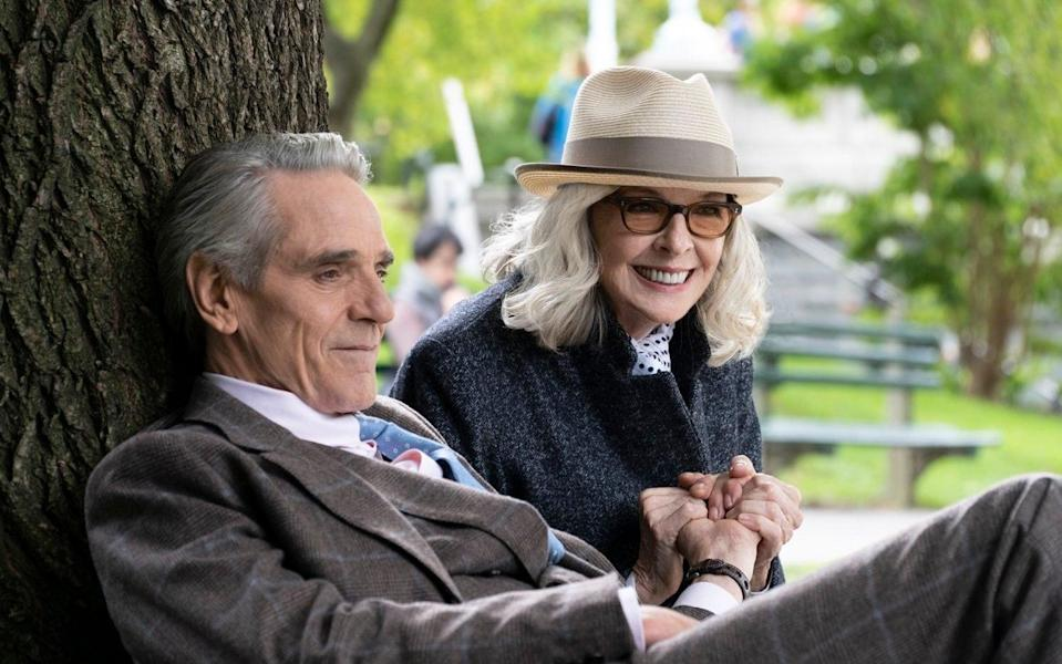 Jeremy Irons and Diane Keaton in the disastrous Love, Weddings & Other Disasters - LWOD