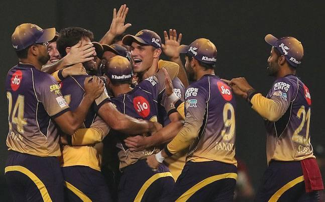 3. RCB - 49 all-out against KKR, 2017 (Lowest team total)