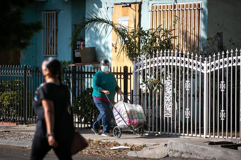 Homes remain boarded up and residents displaced following LAPD's handling of the June 30 fireworks explosion.