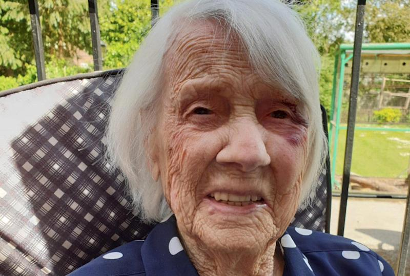 Jane Collins has been through a lot in her 104 years of life. (SWNS)