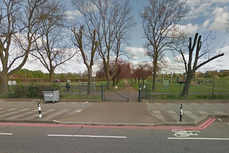 Sutcliffe Park: The woman was robbed and raped in broad daylight: Google Street View