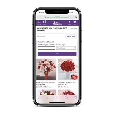 1-800-Flowers.com New Mobile Website