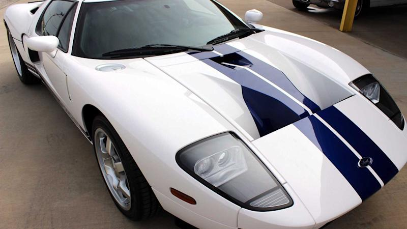 Own This Exceptional Low Mileage 2005 Ford GT