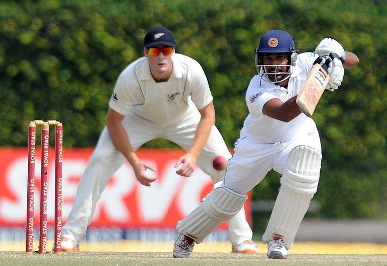 Wicket-keeper Prasanna Jayawardene scored 71 as Sri Lanka closed their innings at 396 for six