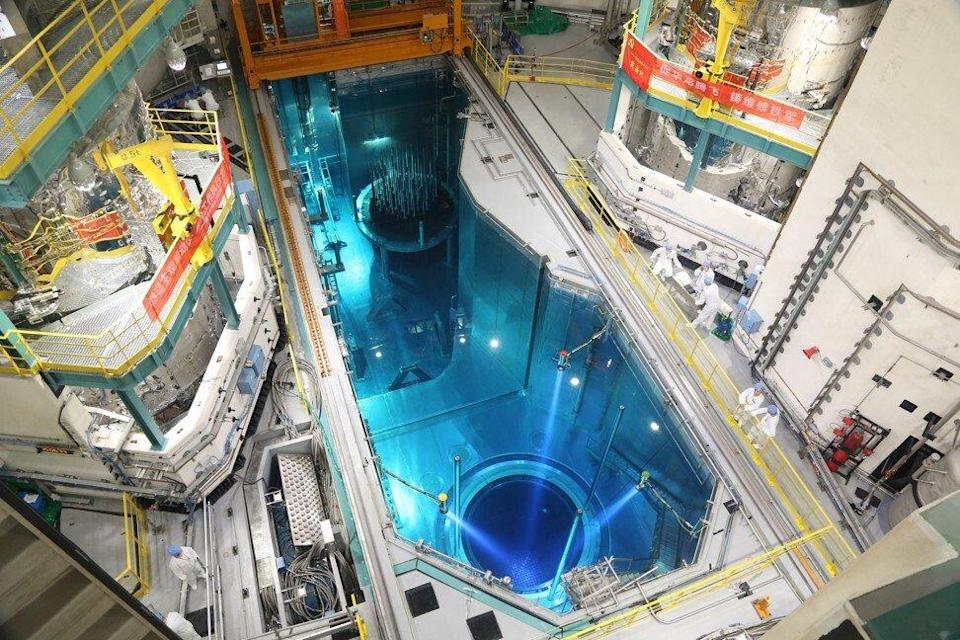 The No. 5 nuclear power unit of the Fuqing project is seen in September 2020 in the city of Fuqing, Fujian Province. It is China's first nuclear power unit using Hualong One technology, a domestically developed third-generation reactor design. Photo: Xinhua