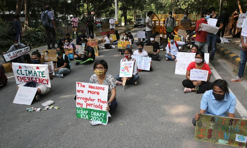 There were strikes and protests in major cities in India, including New Delhi