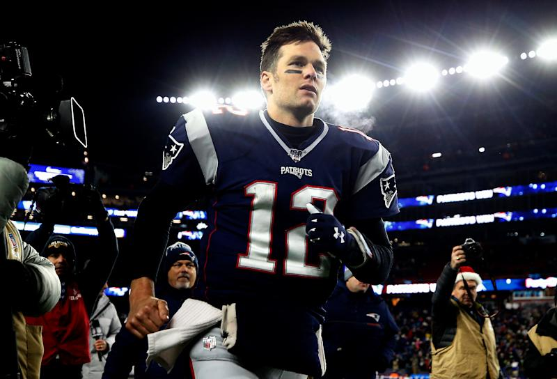 The news finally landed Tuesday: Tom Brady is leaving the New England Patriots. (Winslow Townson-USA TODAY Sports)