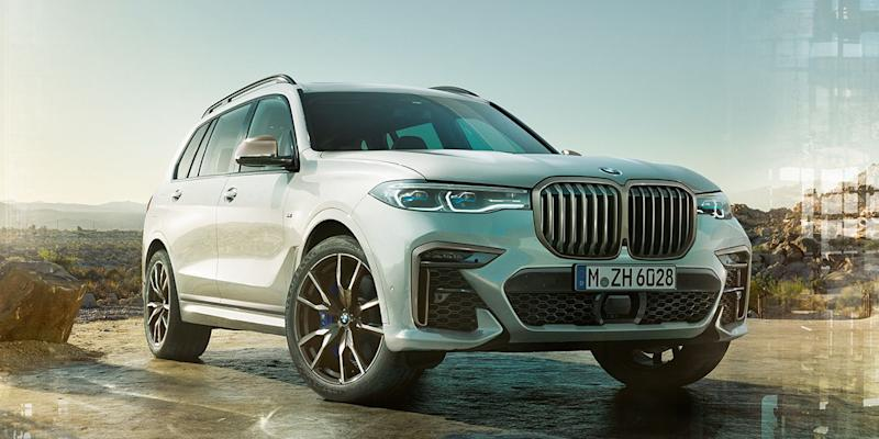 BMW adds M performance to the X5 and X7 SUVs