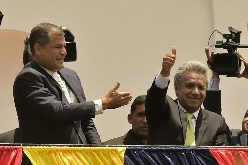 Leftist Moreno wins Ecuador presidency: election body