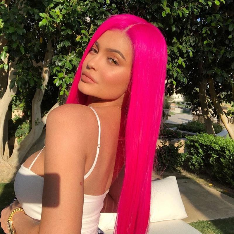 """Kylie Jenner Makes an Appearance at Coachella, Declaring: """"I'm Not a Regular Mom, I'm a Cool Mom"""""""