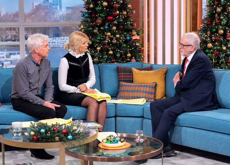 Corbyn appeared on This Morning earlier this week (Photo: Ken McKay/ITV/Shutterstock)
