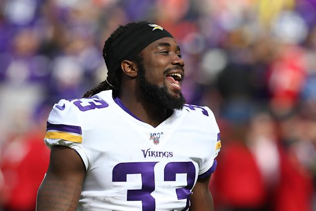 Dalvin Cook is excited about his playoff schedule. (Photo by Scott Winters/Icon Sportswire via Getty Images)