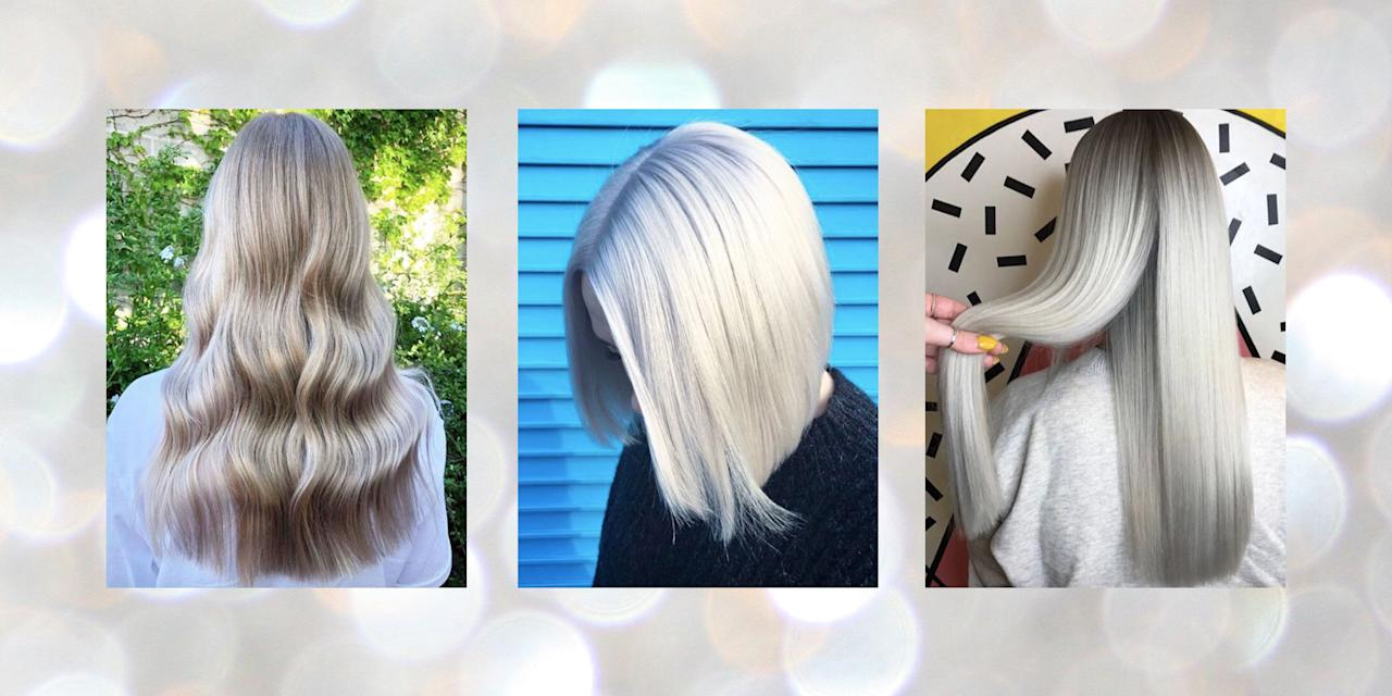 "<p>Silver hair is one trend we're never going to tire of (and I blame you, Daenerys Targaryen). Yep, it seems that Instagram loves ice-queen hair just as much as we do, with salons like <a href=""https://www.instagram.com/bleachlondon/?hl=en"" target=""_blank"">Bleach London</a>, <a href=""https://www.instagram.com/thefoxandthehair/?utm_source=ig_embed&action=profilevisit"" target=""_blank"">The Fox And The Hair</a> and <a href=""https://www.instagram.com/notanothersalon/"" target=""_blank"">Not Another Salon</a>, keeping silver hair front and centre on our social feeds. </p><p>From silver blondes to shimmering greys, these are the metallic hair hues that will convince you to reach for that silver hair dye, stat...</p>"