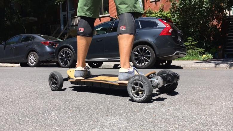 Montrealer ditches law career to make a better electric skateboard