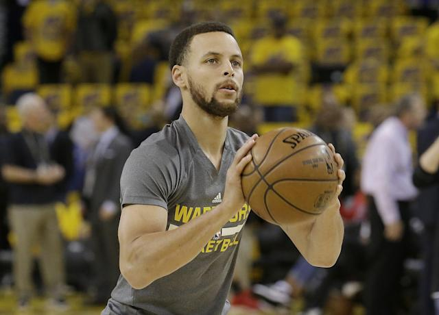 Stephen Curry is in line for a major raise. (AP)