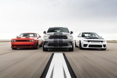 Celebrating the new addition to the Brotherhood of Muscle: 2021 Dodge Durango SRT Hellcat production starts