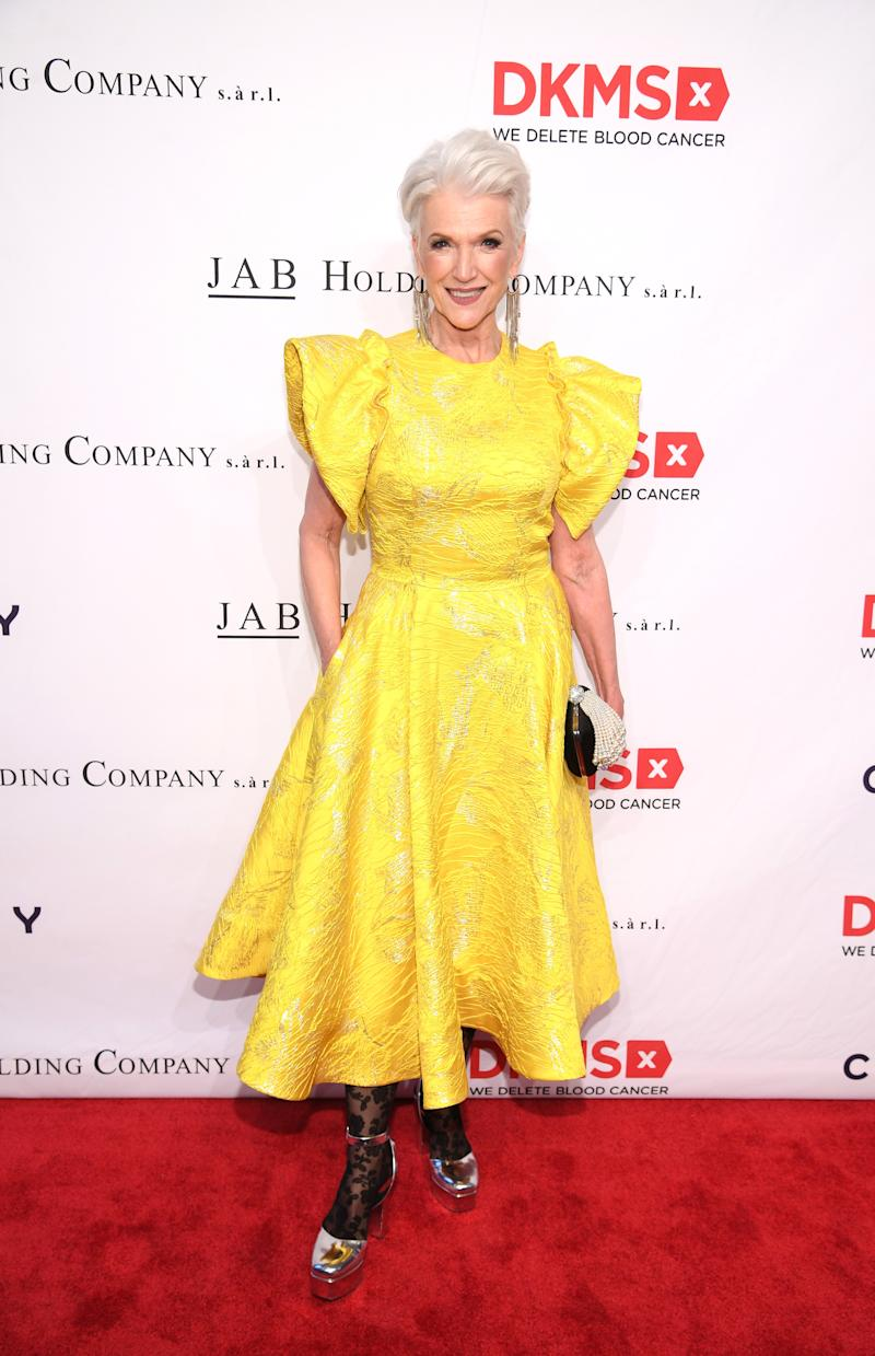 Maye Musk attends The DKMS Love Gala 2018 at Cipriani Wall Street on May 2, 2018 in New York City.