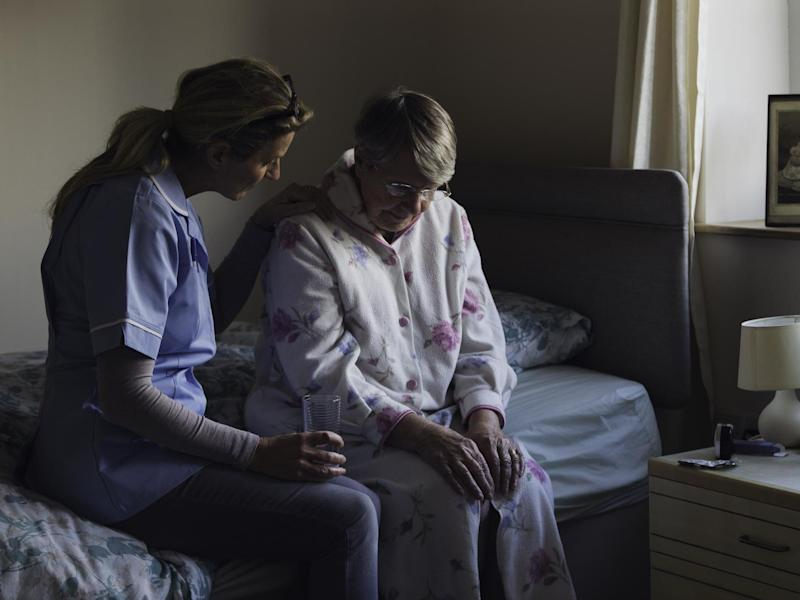 The social care crisis means thousands of beds are being lost to the NHS every day: Getty