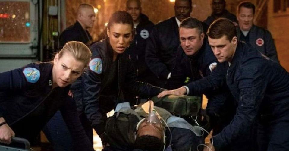 """<p>The founding program of the popular <em>Chicago</em> franchise, <em>Chicago Fire</em>, is set to put out many more flames as the NBC drama has been renewed for a ninth, tenth, and eleventh season. As for the other shows in the franchise – they, too, have <a href=""""https://deadline.com/2020/02/chicago-fire-chicago-pd-chicago-med-renewed-3-more-seasons-nbc-1202870094/"""" rel=""""nofollow noopener"""" target=""""_blank"""" data-ylk=""""slk:collected triple season orders"""" class=""""link rapid-noclick-resp"""">collected triple season orders</a>. <em>Chicago P.D.</em> has been renewed for an eighth, ninth, and tenth season, while <em>Chicago Med</em> will see a sixth, seventh, and eighth season.</p>"""