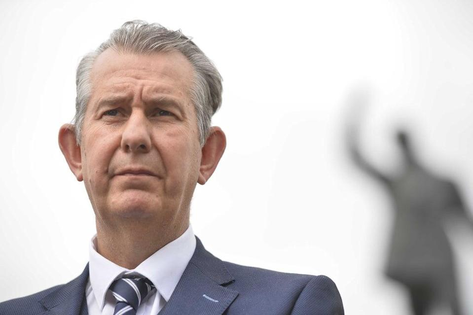 DUP Environment Minister Edwin Poots has said the Northern Ireland Protocol is damaging the peace process (Mark Marlow/PA) (PA Wire)