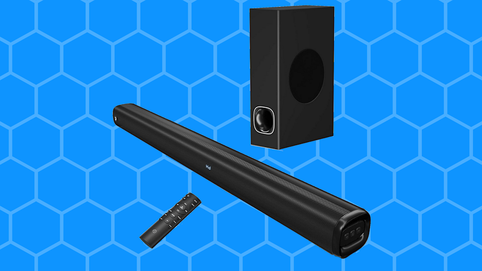 Upgrade your home audio and save half — you'll thank us later! (Photo: Amazon)