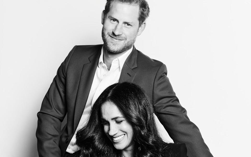 The Duke and Duchess of Sussex hosted a TIME100 Talks event - Matt Sayles