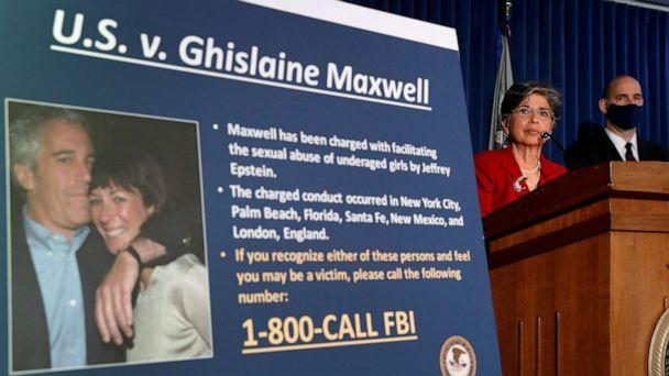 PHOTO: Audrey Strauss, acting U.S. attorney for the Southern District of New York, speaks at a news conference announcing charges against Ghislaine Maxwell for her role in the sexual exploitation of minors by Jeffrey Epstein in New York, July 2, 2020. (Lucas Jackson/Reuters, File)