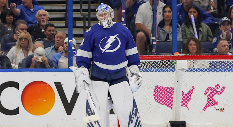 Andrei Vasilevskiy doesn't think the Tampa Bay Lightning were truly ready for the NHL post-season. (Photo by Mike Carlson/Getty Images)