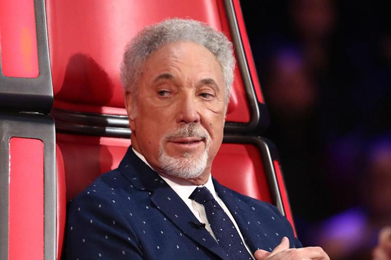 'F-bomb': Sir Tom Jones was caught swearing on The Voice (Rex/ITV)