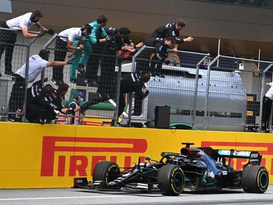 Mercedes have shown all the signs of another season of domination (AFP via Getty)