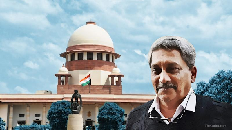 How SC's Hearing Paved the Way for Parrikar-Led BJP Govt in Goa