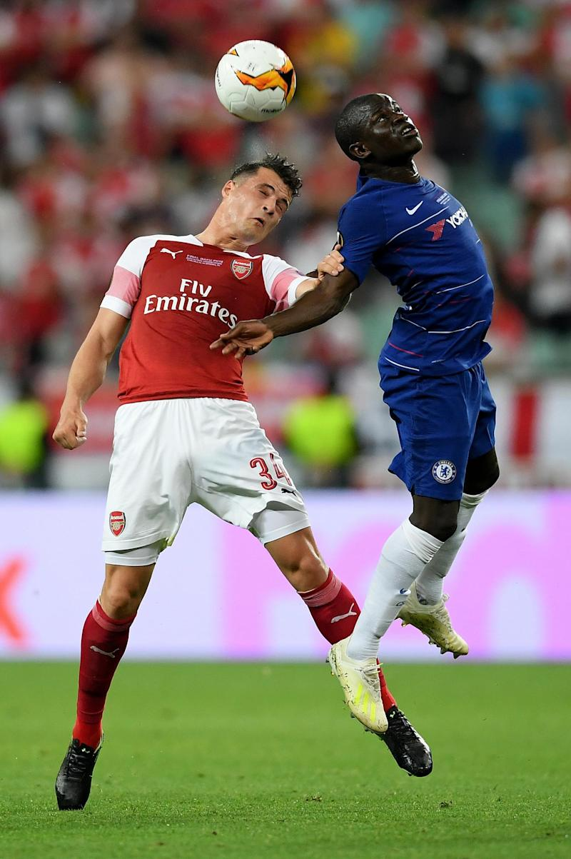 Heading the ball features regularly in professional matches (Getty Images)