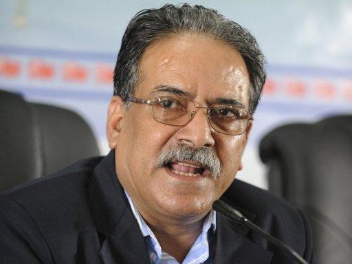 Maoist party chairman Pushpa Kamal Dahal