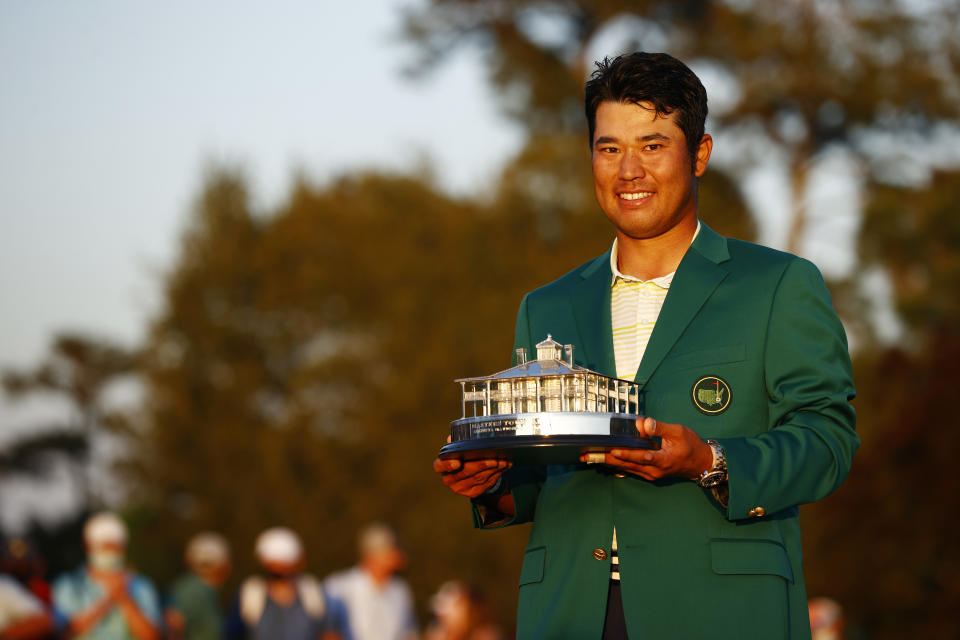 Hideki Matsuyama's win was big in Japan, not so much in the ratings. (Photo by Jared C. Tilton/Getty Images)