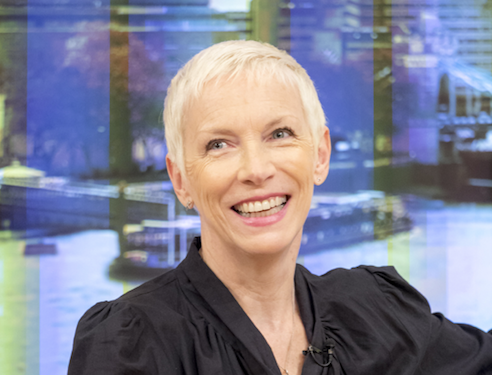 Annie Lennox told she's got 'potential' by clueless radio professional