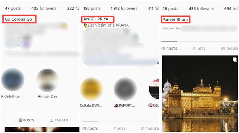 Instagram Name Change Prank Has Hilarious Results, From Food Items to Funny Phrases, Check List of Names Users Have Been Fooled to Keep in Latest Trend