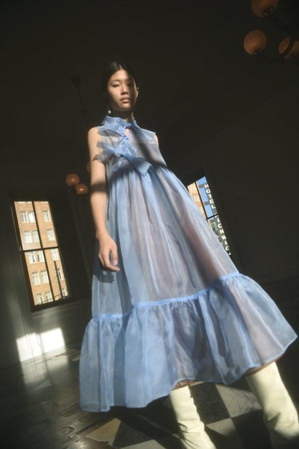 """<h2>Kamperett Mae Dress In Cornflower Blue</h2><br>This San Francisco-based indie brand has built a cult following around its gauzy, feminine, small-batch occasion dresses. The semi-sheer tea-length Mae silhouette comes in a few different colors — but for the big day, we'd naturally recommend something blue.<br><br><em>Shop Kamperett at <strong><a href=""""https://www.garmentory.com/sale/boutiques/san-francisco/kamperett"""" rel=""""nofollow noopener"""" target=""""_blank"""" data-ylk=""""slk:Garmentory"""" class=""""link rapid-noclick-resp"""">Garmentory</a></strong></em><br><br><strong>Kamperett</strong> Mae Dress, $, available at <a href=""""https://go.skimresources.com/?id=30283X879131&url=https%3A%2F%2Fwww.garmentory.com%2Fshop%2F737357-kamperett-mae-dress%3Fsp%3D948530"""" rel=""""nofollow noopener"""" target=""""_blank"""" data-ylk=""""slk:Garmentory"""" class=""""link rapid-noclick-resp"""">Garmentory</a>"""