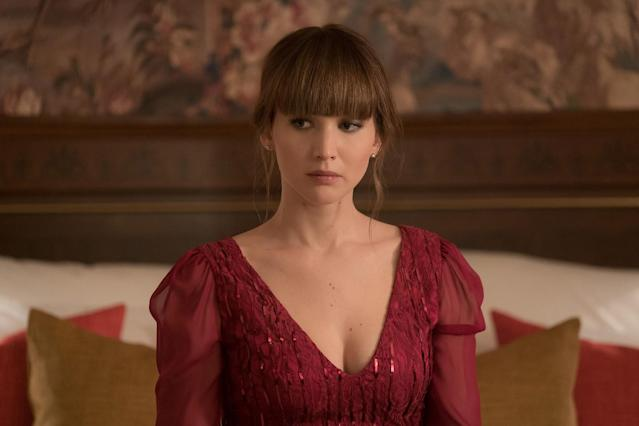 Jennifer Lawrence in <em>Red Sparrow.</em> (Photo: 20th Century Fox)