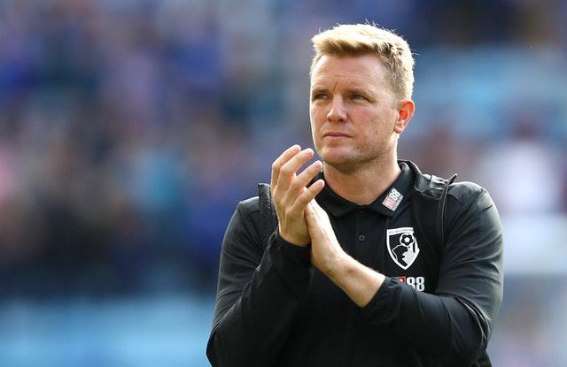 Eddie Howe's second stint in charge of Bournemouth began in 2012 (Tim Goode/PA)